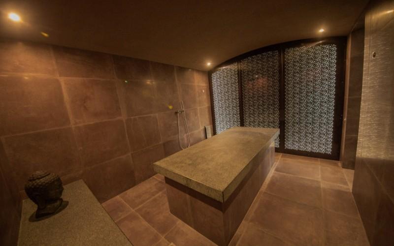 Hammam místnost ve wellness Čapí hnízdo od Aquamarine Spa