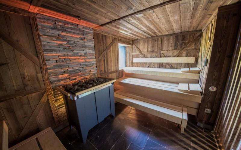 Luxusní sauna Klafs v komerčním wellness- reference Aquamarine Spa
