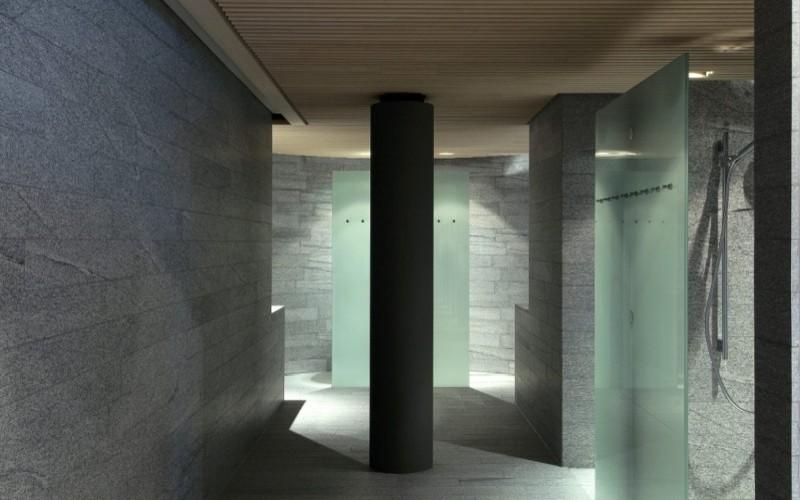 Exkluzivní komerční wellness Klafs se zážitkovými sprchami