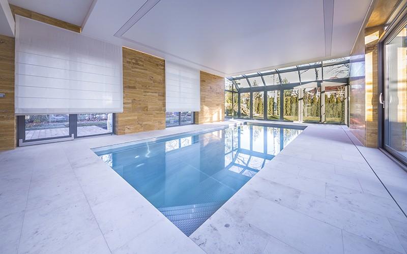 Nerezový bazén Imaginox ve wellness v hotelu Bedřiška