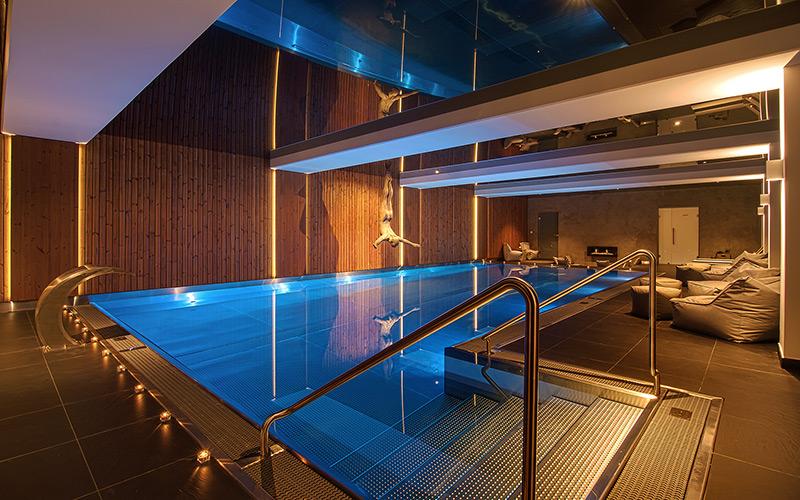 komerční bazén hotel Bedřiška