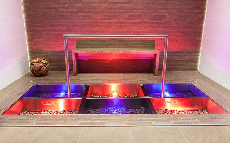 Nerezový ochlazovací bazén Imaginox s přelivem a automatickým dopouštěním