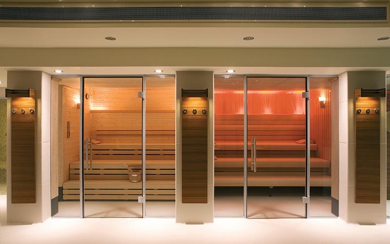 Exkluzivní finská sauna a aroma lázeň Klafs