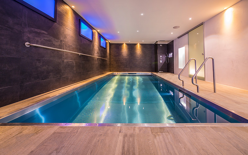 Luxusní nerezový bazén Imaginox se zabudovanými schůdky