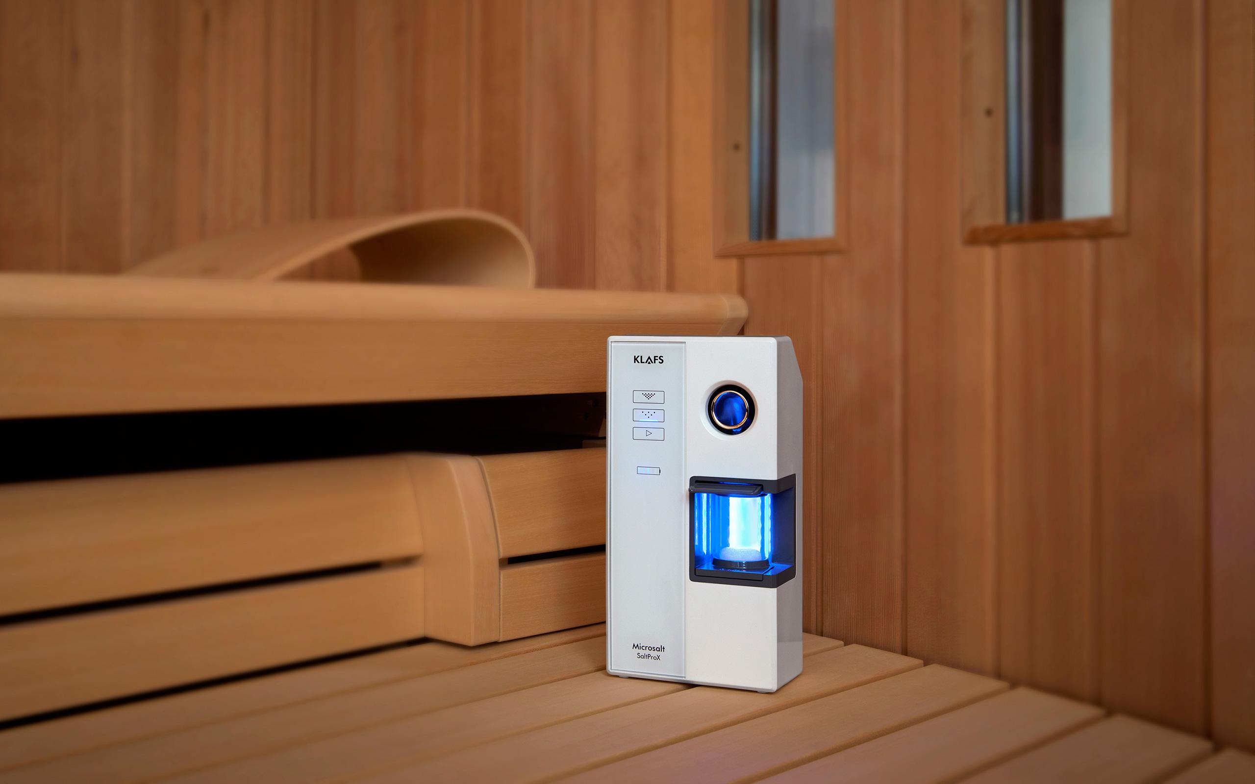 nadstandartní doplněk saunování microsalt