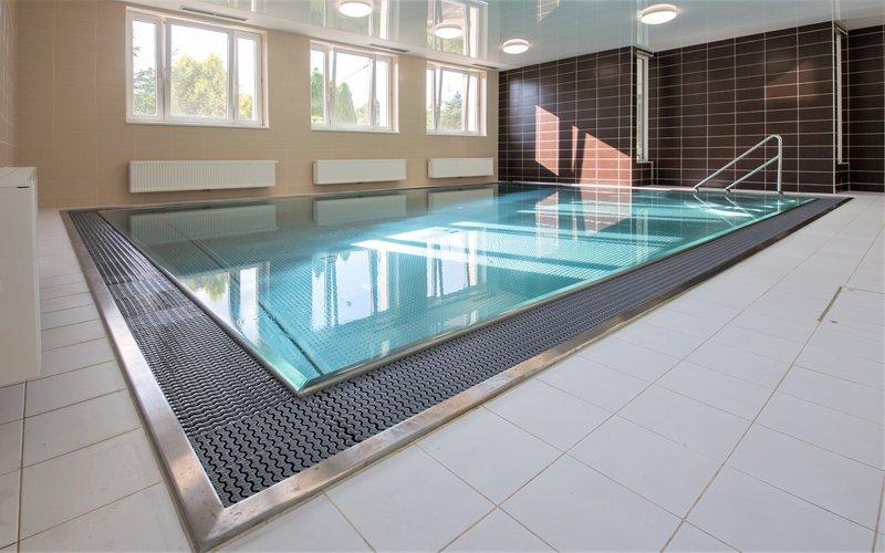 nerzeový bazén Imaginox v psychosomatickém centru