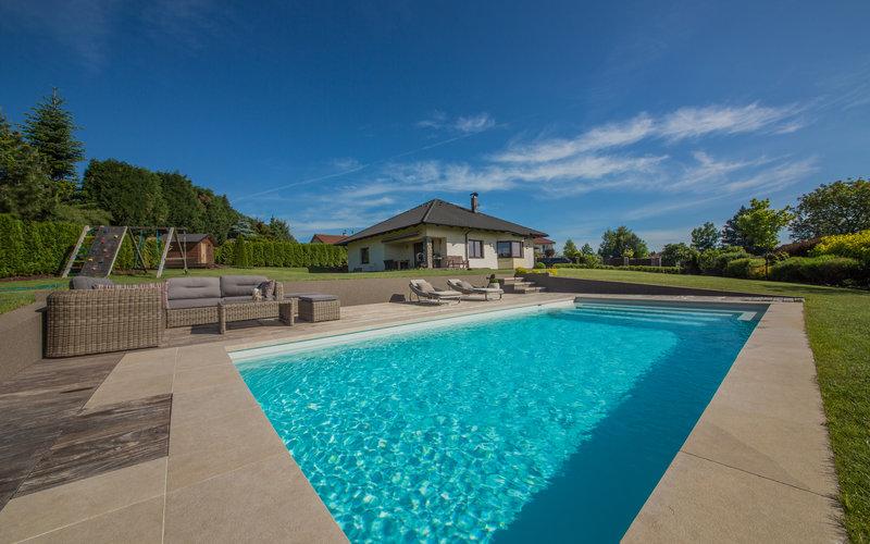 venkovní skimmerový bazén