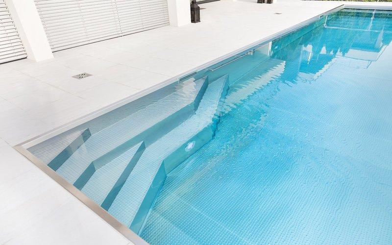 bazén Imaginox deatil schodiště