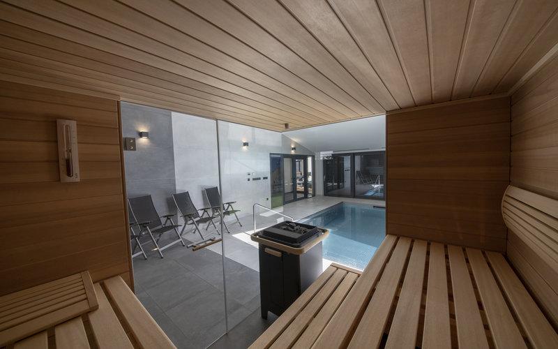 Kvalitní vestavěné sauny na míru Klafs